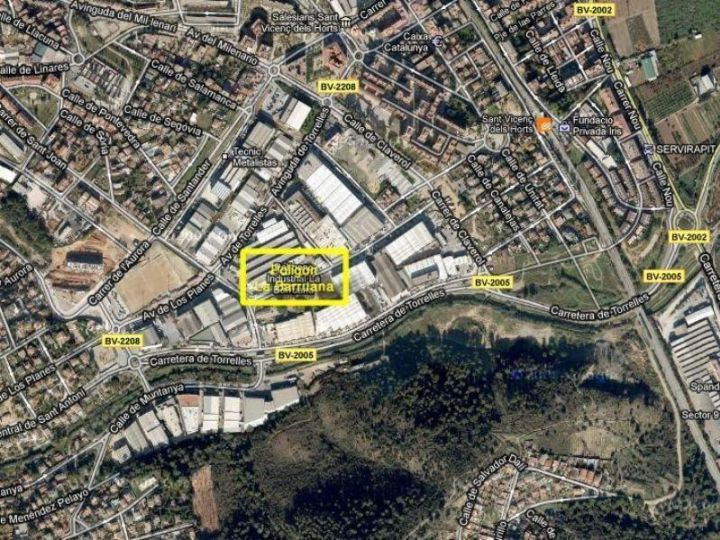 Industrial Land for rent at Sant Vicenç dels Horts