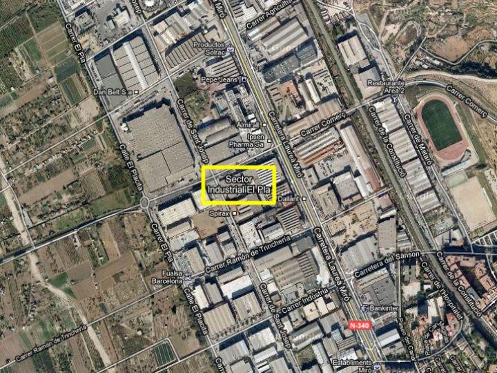 Industrial Land for sale at Sant Feliu de Llobregat