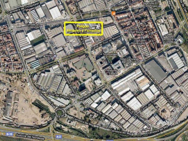 Industrial Plot for sale at Cornellà de Llobregat