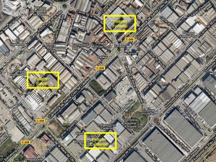 Edificio Sant Boi de Llobregat, dos plantas con accesos rodados para cada una y ubicación privilegiada.