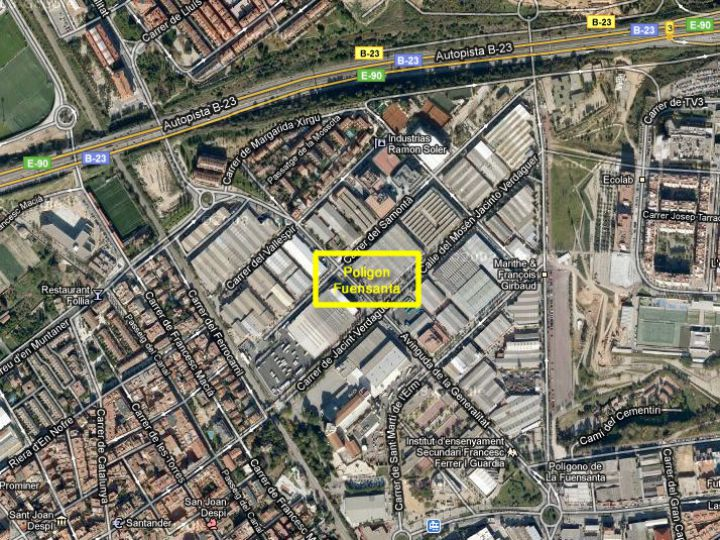 Industrial Plot for rent at Sant Joan Despi