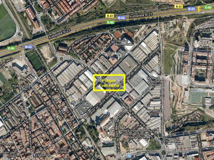 Industrial Plot for sale at Sant Joan Despi