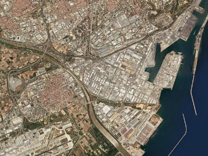 Nave logística, Polígono ZAL, Barcelona